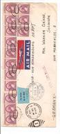 """ZEPPELIN.LZ""""Hindenburg""""U.S.A-SOLINGEN.Si.No 438A.Flug Und Luftschiffhafen Rhein/Main 24.9.36 - Luftpost"""