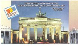 "2001. Latvia, Stamp Fair ""Berlin 2001"", Mich. 539, Booklet, Mint/** - Letland"