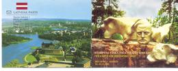"2002. Latvia, Stamp Fair ""Helsinki 2002"", Churches Of Latvia, Booklet, Mint/** - Letland"