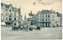 CPA - Carte Postale - Belgique - Ostende - La Place Léopold (CPV652) - Oostende