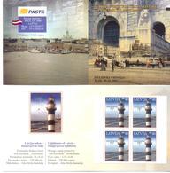 "2005. Latvia, Stamp Fair ""Helsinki 2005"", Lighthouse,  Booklet, Mint/** - Letland"