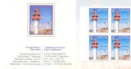 "2007. Latvia, Stamp And Coins Fair ""Koln 2007"", Lighthouse, Booklet, Mint/** - Letland"