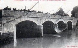 Le Pouliguen. Les Distractions Du Pays. La Pêche Au Carrelet Sur Le Pont. - Le Pouliguen