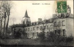 Cp Franleu Somme, Le Chateau, Blick Auf Das Schloss, Fassade, Turm - France