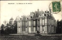 Cp Franleu Somme, Le Chateau De M. Dufrien, Blick Auf Das Schloss, Villa - France