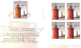 "2008. Latvia, Stamp Fair ""Planete Timbre 2008"", Lighthouse, Booklet, Mint/** - Letland"