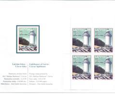 2010. Latvia, Philatelic Exhibition, Lighthouse, Booklet, Mint/** - Letland