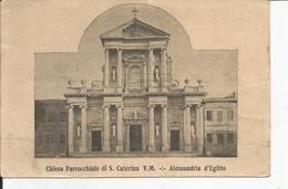 CHIESA PARROCCHIALE DI S.CATERINA V.M ALLESSANDRIA S EGITTO - Alexandria