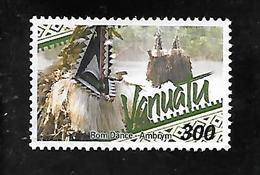 TIMBRE OBLITERE DE VANUATU DE 2001 N° MICHEL 1143 - Vanuatu (1980-...)