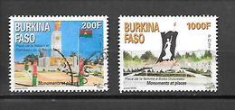 TIMBRE OBLITERE DU BURKINA DE 2013 N° MICHEL 1974/75 - Burkina Faso (1984-...)