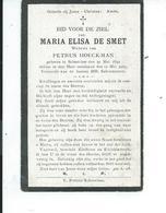 B.P. SCHORISSE DE SMET MARIA 1849 - 1927 - Religion & Esotericism