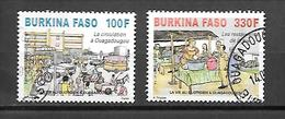 TIMBRE OBLITERE DU BURKINA DE 2012 N° MICHEL 1956/57 - Burkina Faso (1984-...)