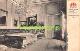 CPA PALAIS ROYAL DE BRUXELLES LA SALLE DE BILLARDS JEU DE BILLARD - Cartes Postales