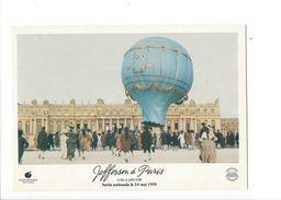 18062-  Montgolfière Publicitée Jefferson à Paris Film De James Ivory - Montgolfières