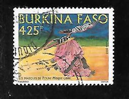 TIMBRE OBLITERE DU BURKINA DE 2003 N° MICHEL 1853 - Burkina Faso (1984-...)