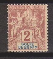 Bénin  N° 21  Neuf *tc - Benin (1892-1894)