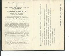 B.P.   SCHORISSE HOECKMAN SIDONIE 1877 - 1949 - Religion & Esotericism