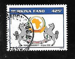 TIMBRE OBLITERE DU BURKINA DE 1998 N° MICHEL 1502 - Burkina Faso (1984-...)