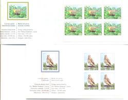 "2011. Latvia, Philatelic Exhibitions ""Habria 11"" And ""china 2011"", Birds, 2 Booklets Mint/** - Letland"