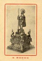 Gioia Del Colle BA - Santino Antico Grande SAN ROCCO (con Himnus In Latino) - OTTIMO N100 - Religione & Esoterismo