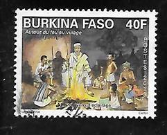 TIMBRE OBLITERE DU BURKINA DE 2013 N° MICHEL 1977 - Burkina Faso (1984-...)