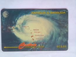 54CATF Hurricane Luis - Antigua And Barbuda