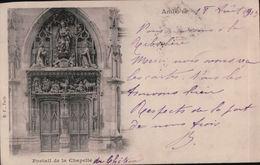 3000A   AMBOISE1904  TIMBRE ET ECRITE - Amboise