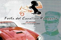 [MD1247] CPM - RAVENNA - LUGO - FESTA DEL CAVALLINO RAMPANTE FERRARI - CON ANNULLO 2.6.2002 - Non Viaggiata - Ravenna