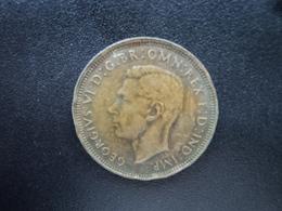 AUSTRALIE : 1/2 PENNY  1947 (p)   KM 41   TTB - Monnaie Pré-décimale (1910-1965)
