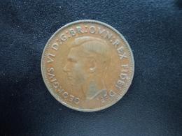 AUSTRALIE : 1/2 PENNY  1949 (p)   KM 42   TTB - Monnaie Pré-décimale (1910-1965)
