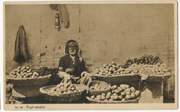 45 Fruit Vendor P. Used Baghdad 1938 To Beyrouth Beirut Then Haifa  Edit Naman - Iraq