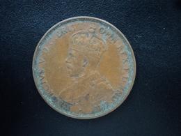AUSTRALIE : 1 PENNY  1919 (m)  KM 23  TTB - Penny