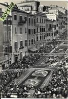 Lazio-roma-genzano Di Roma Animatissima Veduta Infiorata Anni 50 (1956) - Altre Città