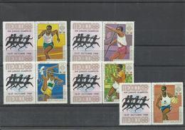BURUNDI   YVERT   294/98    MNH  ** - Verano 1968: México
