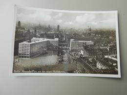 ALLEMAGNE BERLIN ALEXANDER PLATZ MIT DER NEUEN HOCHHÄUSERN - Kreuzberg