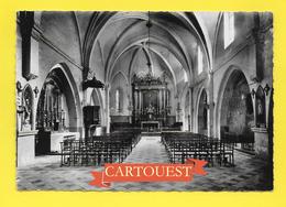 CPSM 13 SALON DE PROVENCE INTERIEUR DE L'EGLISE - Eglises Et Cathédrales