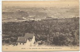 ORAN - Vue Générale Des Planteurs , Prise Du Belvédère - Oran