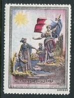 "La Provence Pour Le Nord Ruffier Reklamemarke Poster Stamp Vignette Never Hinged 1 1/2 X 2"" - Cinderellas"