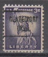 USA Precancel Vorausentwertung Preo, Locals Oklahoma, Claremore 721 - Vereinigte Staaten