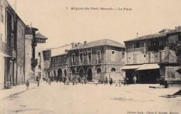 CPA - Alignan Du Vent - La Place - Frankreich