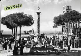 Lazio-roma-genzano Di Roma Piazza Frasconi Veduta Animatissima Anni 50 - Altre Città