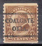 USA Precancel Vorausentwertung Preo, Bureau Oklahoma, Coalgate 598-42 - United States