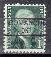 USA Precancel Vorausentwertung Preo, Locals Oklahoma, Comanche 835,5 - Vereinigte Staaten