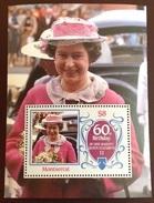 Montserrat 1986 Queens 60th Birthday Minisheet MNH - Montserrat