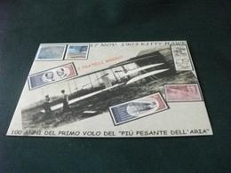 AEREO 1903 KITTY HAWK I FRATELLI WRIGHT  100 ANNI PRIMO VOLO  GENOVA 2003 FRANCOBOLLO SAN MARINO - ....-1914: Voorlopers