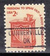 USA Precancel Vorausentwertung Preo, Locals Oklahoma, Connersville 841 (b1.5) - Préoblitérés