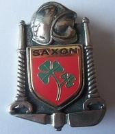 INSIGNE POMPIERS SUISSE  SAXON - Firemen