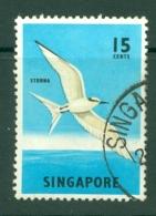 Singapore: 1962/66   Pictorial - Marine Life, Flowers, Birds   SG70a    15c    Used - Singapore (1959-...)