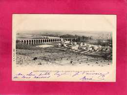 78 Yvelines, St-Germain-en-Laye, Le Viaduc Et Le Pont Du Chemin De Fer, 1903, (B. F.) - St. Germain En Laye