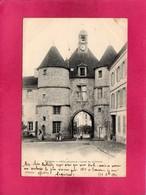 77 Seine Et Marne, Tournan, Hôtel-de-Ville, Place Du Château, 1902, Animée, () - St. Germain En Laye